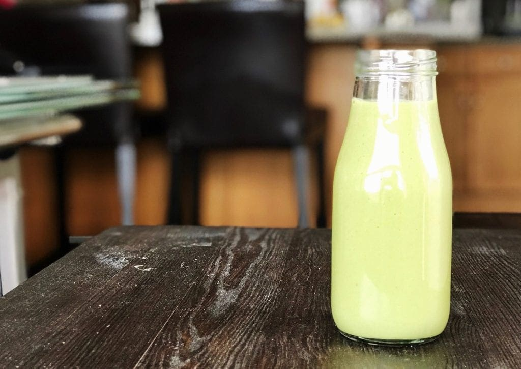 Recipe for Matcha Pear Simply Zero Protein Smoothie